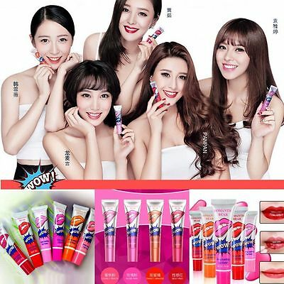 Waterproof Magic Color Lip Gloss Peel Off Mask Long Lasting Tint Stain Tattoo CA