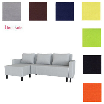 Remarkable Custom Made Cover Fits Ikea Lugnvik Sofa Bed With Chaise Ibusinesslaw Wood Chair Design Ideas Ibusinesslaworg