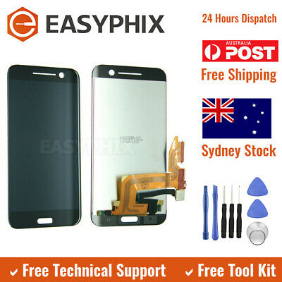 LCD Display Digitizer Touch Screen Assembly for HTC 10 Black