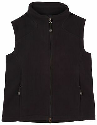TUMUT | Women Polar Fleece Vests in Black, Navy Blue