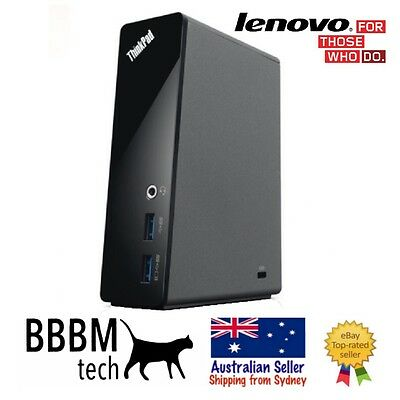 Lenovo ThinkPad Basic USB 3.0 Dock - Universal Port Replicator 4X10A06692