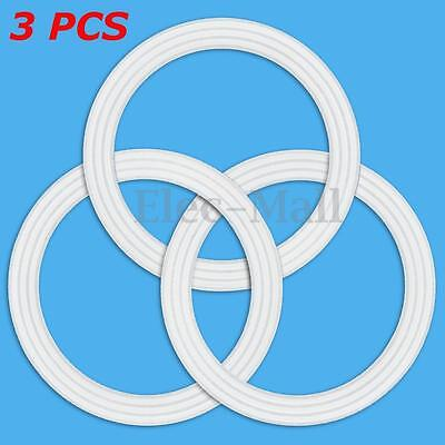 3 Pack Premium Rubber Gasket Ring Sealing Replacement For Oster Blender Silicone