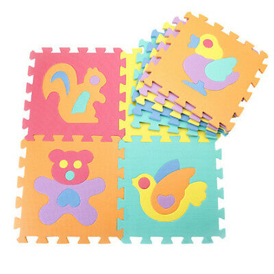 10X Baby's Soft Crawling Rugs Baby Play Puzzle Educational Toy Mat Eva Foam Mat