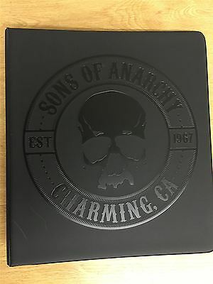 Sons Of Anarchy Seasons 4 & 5 Trading Card Binder