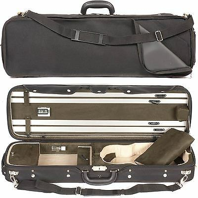 Core 550 Oblong 4/4 Violin Case with Two Tone Green Interior - AUTHORIZED DEALER