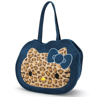 Hello Kitty Bag Face Fluffy Leopard ❤ Sanrio Japan