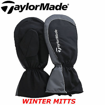 Taylormade Thermal Fleece Lined Winter Mitts Mittens New 2016