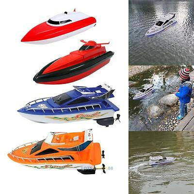 Remote Control Motor High Speed Boat RC Racing Outdoor Toys with Radio Kids Gift