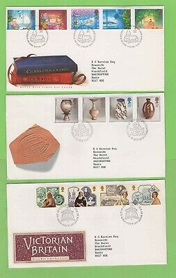 GB 1987 Collection of eight First Day Covers with Special Cancels