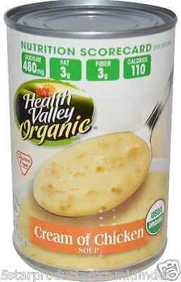 New Health Valley Organic Cream Of Chicken Soup Gluten Free Daily Meal Food Care