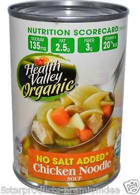 New Health Valley Organic Chicken Noodle Soup Gluten Free Daily Meal Food Care