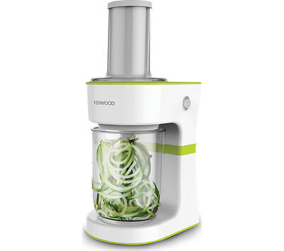 KENWOOD FGP200WG Spiralizer - White & Green 50 W Power and 0.5 litres Capacity