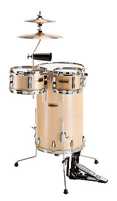 Club Steh Schlagzeug Drum Kit Cocktail Set Becken Cowbell Fußmaschine Sticks