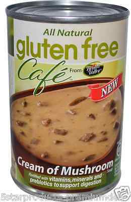 New Health Valley Gluten Free Café Cream Of Mushroom Soup Natural Daily Foods