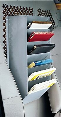 7 Pocket Book and Map Rack Holder for Van Organization - From American Van