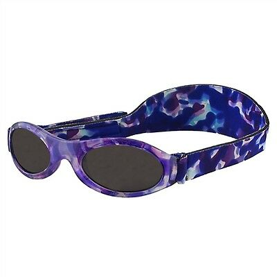 Baby Wrapz 2 Convertible Sunglasses 0-5 Years With 2 Headbands /& Attachable Arms Blue