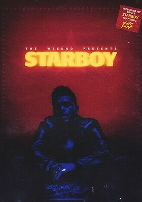 THE WEEKND Starboy PHOTO Print POSTER New Album Daft Punk AbelTesfaye Beauty 09