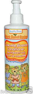 New Healthy Times Baby 's Herbal Garden Conditioner Camomile Blossom Hair Scalp