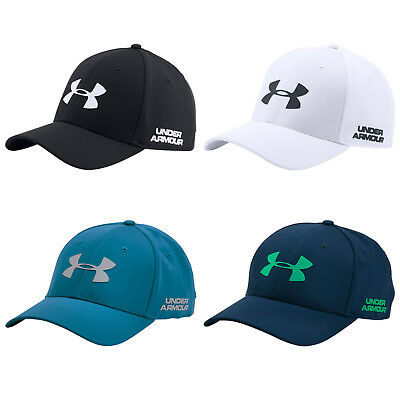 Under Armour Mens Golf Headline Stretch Fit Cap -New Ua Baseball Hat Sports 2017