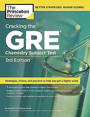 Cracking the GRE Chemistry Subject Test-Princeton Review Publishing