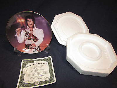 Elvis Presley remembering elvis bradford exchange the superstar plate