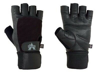 Valeo Competition Wrist Wrap Lifting Gloves (Small)