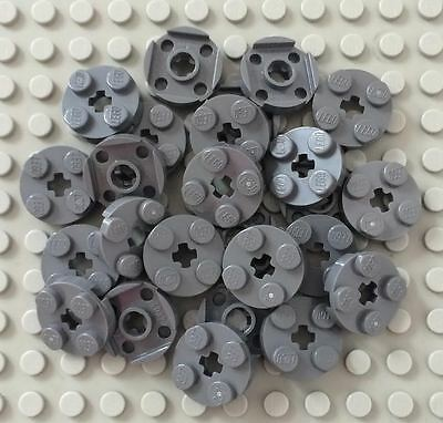 Lego 2x2 Round Plate w// axel hole 50 picked at random from this lot 4032