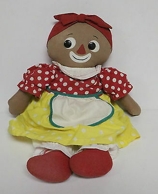 Knickerbocker Beloved Belindy Cloth Doll Raggedy Ann Mammy Black Americana 1965