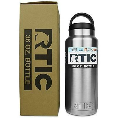RTIC 36 oz Stainless Steel Bottle FREE SHIPPING  SHIPS SAME DAY