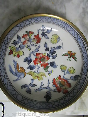 A.C.F. Japanese Porcelain Ware Decorated in Hong Kong round bowl