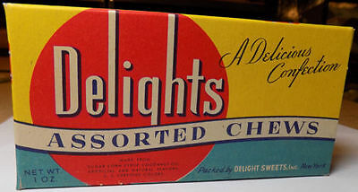 Vintage Delights Assorted Chews Candy Box