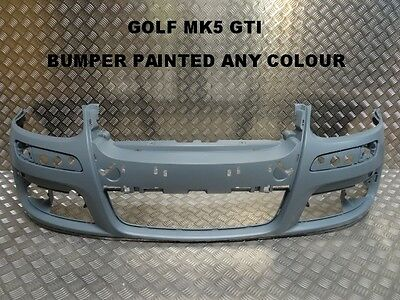 Vw Golf 2004-2008 Mk5 Gti Front Bumper Painted Any Colour Insurance Approved