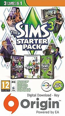 The Sims 3 Starter Pack Pc And Mac Origin Key