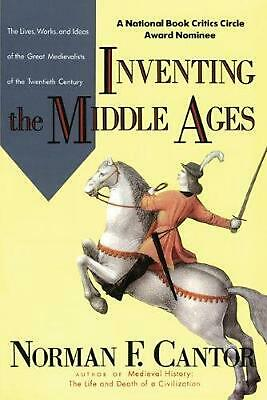Inventing the Middle Ages by Norman F. Cantor (English) Paperback Book Free Ship