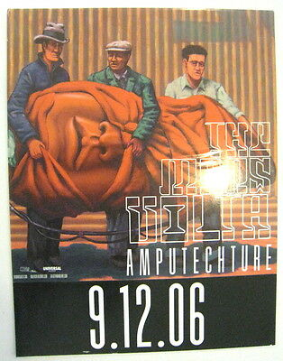 Mars Volta Amputechture promo window cling / poster NEW