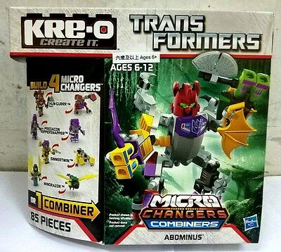 Hasbro Kre-O Transformers Micro Changers Combiners Abominus
