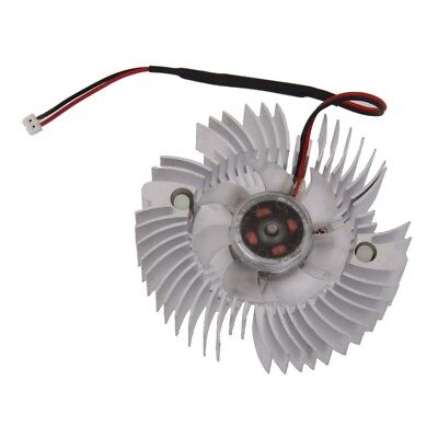 PC GPU VGA Video Graphics Card Heatsink Cooler Cooling Fan 80mm 2pin DC 12V
