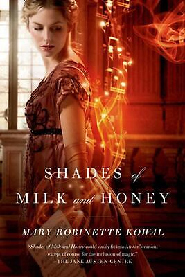 Shades of Milk and Honey by Mary Robinette Kowal (English) Paperback Book Free S