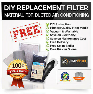 Ducted heating return air filter replacement Kit-Certified G3-SELECT YOUR SIZE