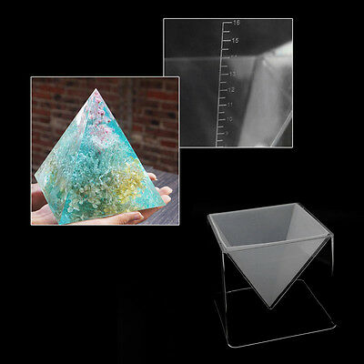 Pyramid Silicone Mould DIY Resin Decorative Craft Jewelry Making Mold