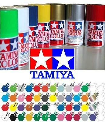 Tamiya Model Spray Paint for Polycarbonate PS-1 to PS-60 in 100ml Aerosol Can