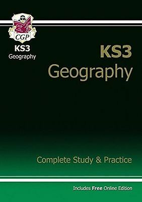 NEW - KS3 Geography Complete Study & Practice (with online (PB) 1841463922
