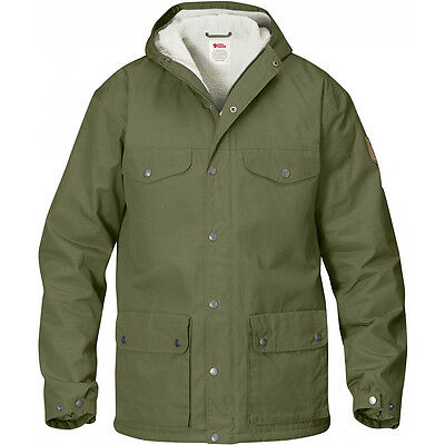 Fjallraven Greenland Winter Jacket - Colour: Green - Various Sizes Available