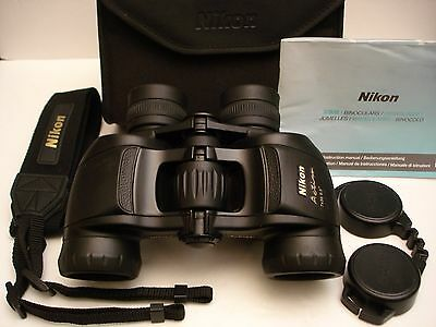 NIKON ACTION 7x35 BINOCULARS, MARKED JAPAN