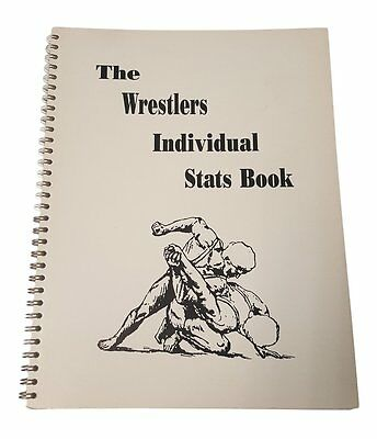 NEW The Wrestlers Individual Stat Book Grey