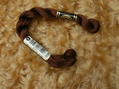 Perle Nose Cotton Dmc Thread - Brown Size 5