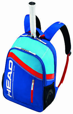 HEAD Core tennis racquet racket Backpack - Blue/Red - Authorized Dealer