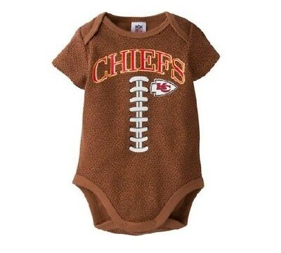 finest selection 10063 687b0 GERBER BABY BOYS NFL Kansas City Chiefs Football Print Onesie; BABY CLOTHES  GIFT