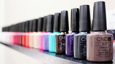 CND Shellac Gel Polish Long-lasting Soak-off Gel Nail Polish LED UV  Nail gel