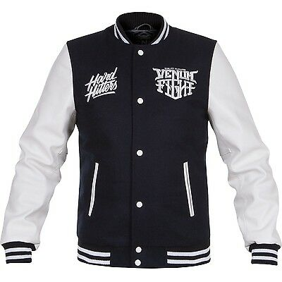 Venum Hard Hitters Varsity Jacket - Navy, 2083 MMA-Jacke - Freefight